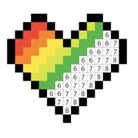 Codes for Coloration par des chiffres et Hack