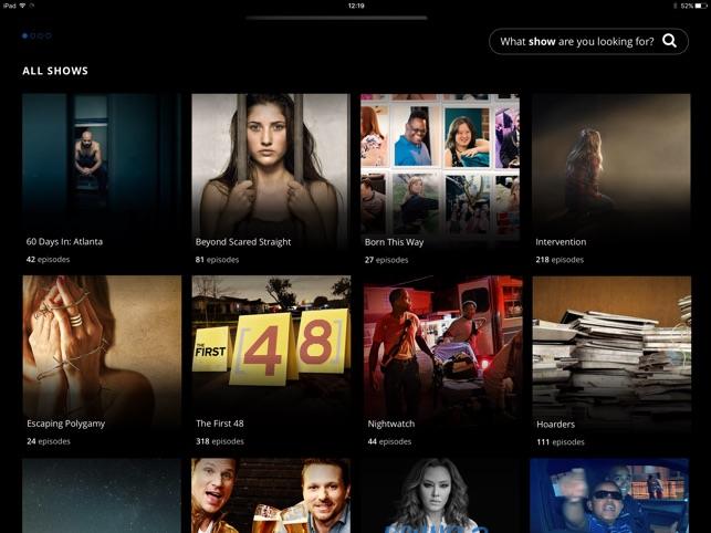 A&E TV Shows on the App Store