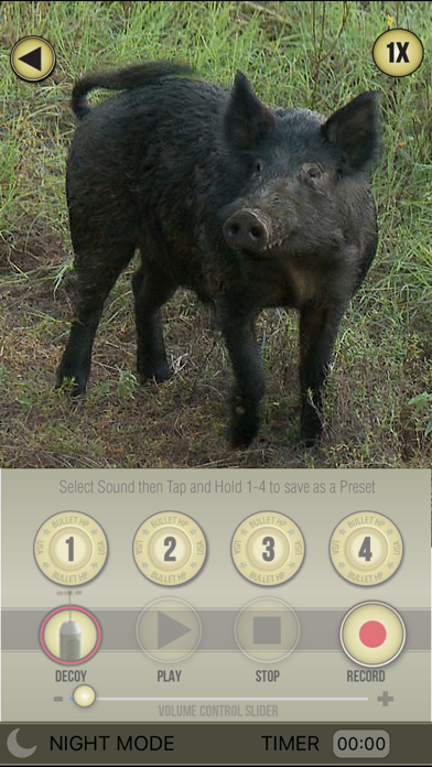Screenshot for Wild Hog Pro in United States App Store