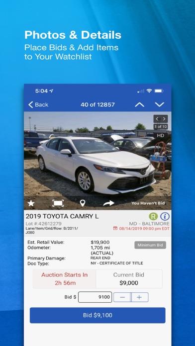 Screenshot #3 pour Copart - Salvage Car Auctions