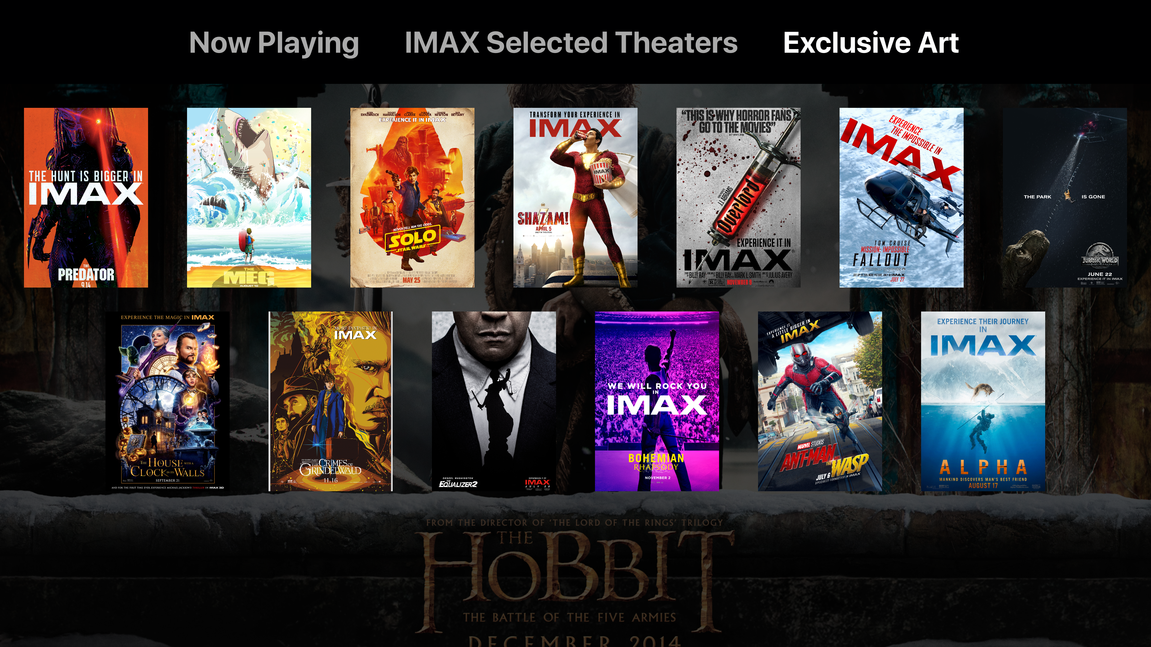 IMAX Movies - Art, Cover, Film screenshot 3