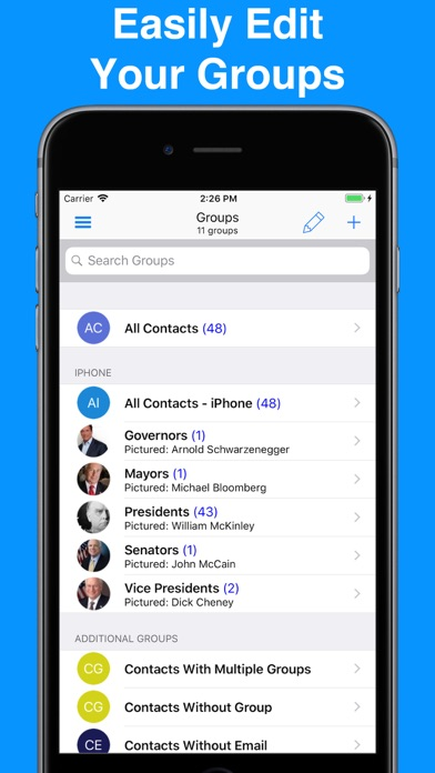 A2Z Contacts - Group Text App screenshot three