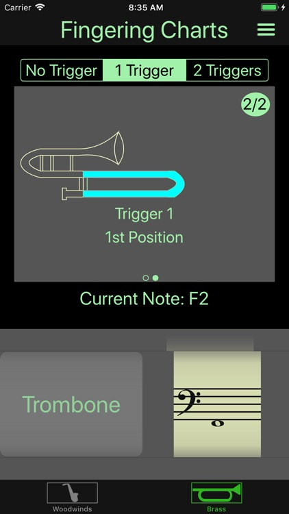 Instrument Fingering Charts screenshot-7