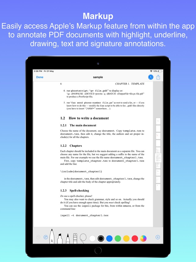 Documents on the App Store
