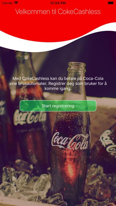 CokeCashless screenshot one