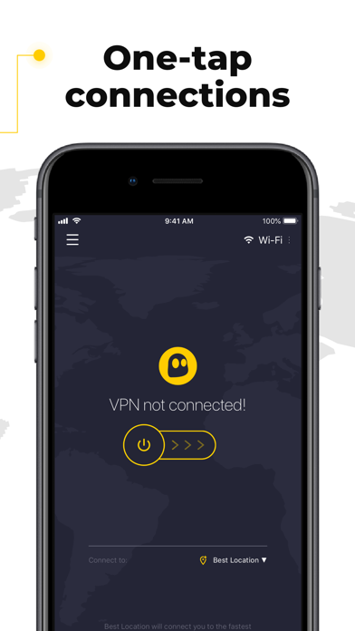 Image of CyberGhost VPN & WiFi Proxy