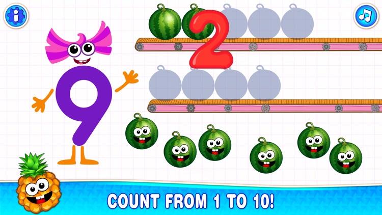 123 Counting Number Kids Games screenshot-3