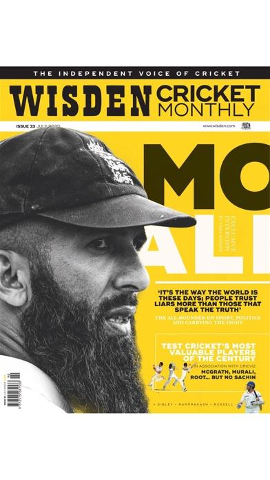 Wisden Cricket Monthly screenshot one