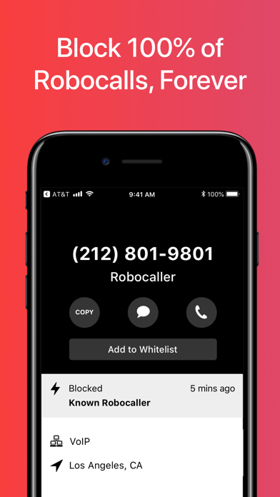 Firewall - Spam Call Blocker Screenshot