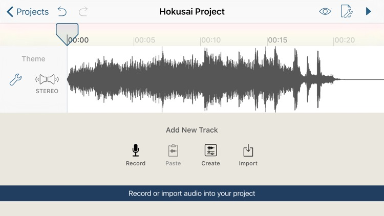 Hokusai Audio Editor screenshot-0