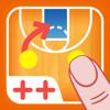コーチのタクティカルボード-バスケットボール++-BLUELINDEN