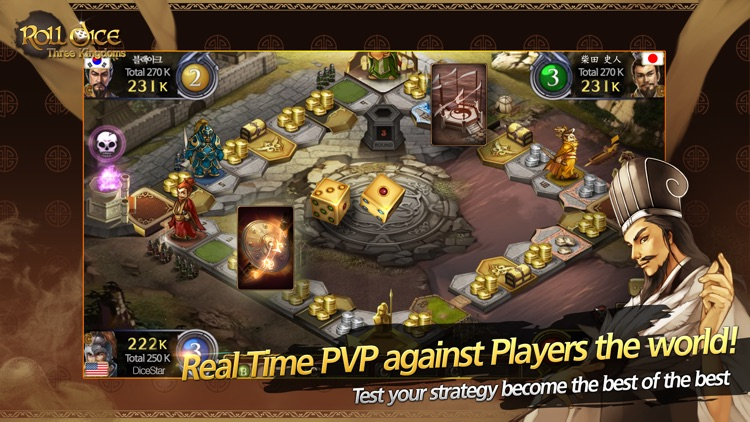 Roll Dice: Three Kingdoms screenshot-1