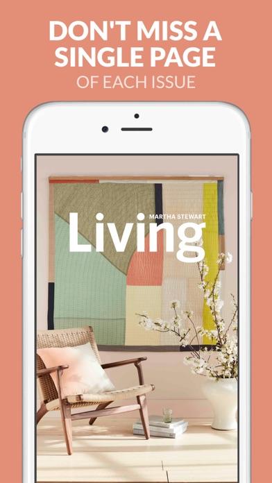 Martha Stewart Living review screenshots
