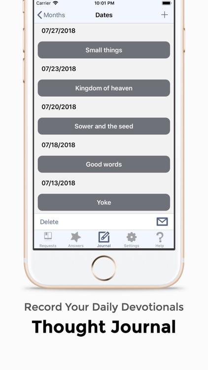 Prayer Notes: Ask, Seek, Knock screenshot-3