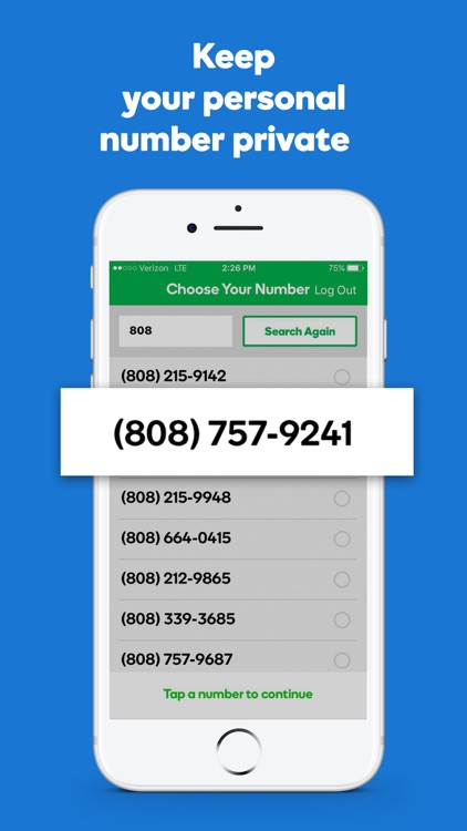 SmartLine Second Phone Number screenshot-0