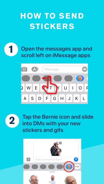 Bernie Sanders & Berniemoji screenshot-9