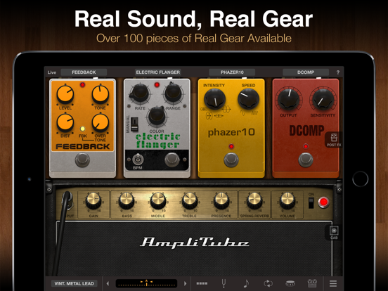 Screenshot AmpliTube for iPad