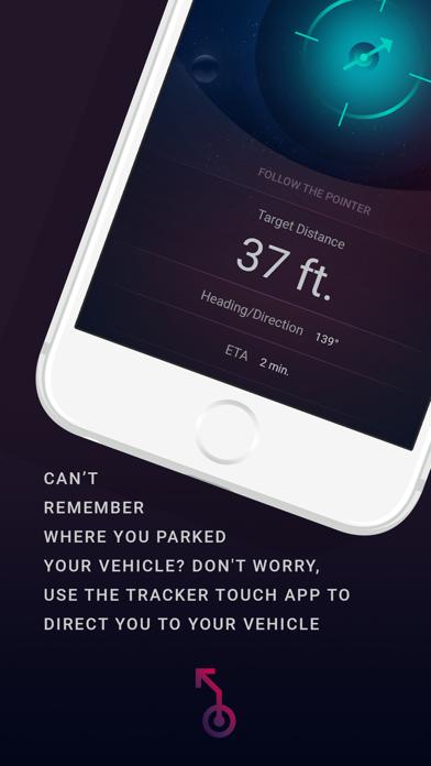 TRACKER Touch screenshot four