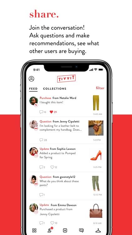 TIVVIT-Fashion Social Shopping
