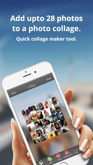 PicTouch:Photo Editor, Collage screenshot two