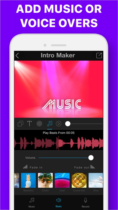 download intro maker with music pro