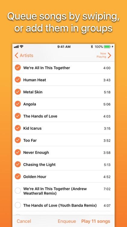 Picky Music Player screenshot-3