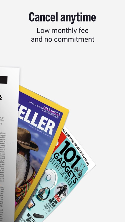 Readly - Unlimited Magazines screenshot-4