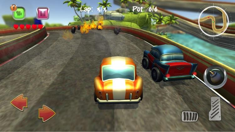 Cartoon Super Racer screenshot-0