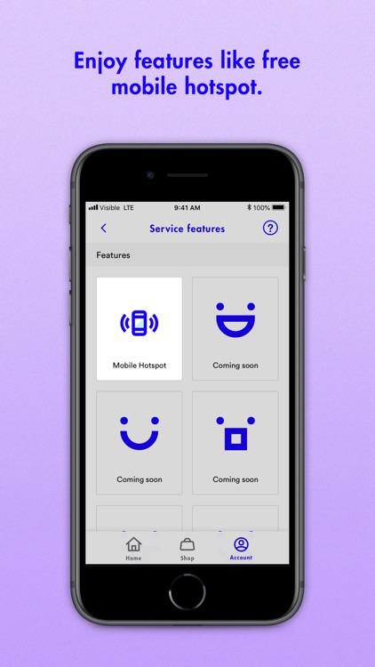 Visible Phone Service screenshot-4