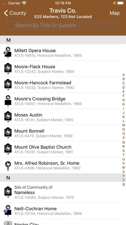 Texas Historical Marker Guide screenshot-7