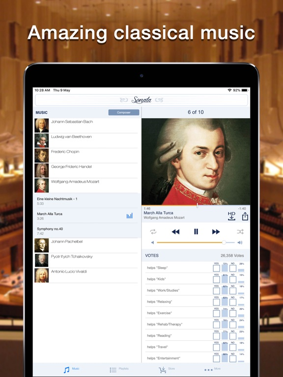Sonata - Classical Music Free Radio Player screenshot