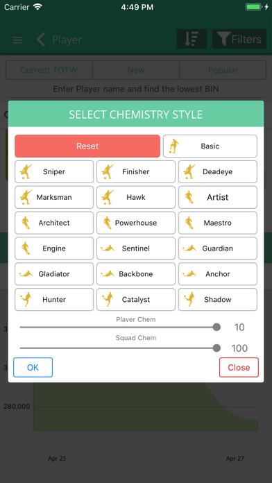 Screenshot for FUT 19 Draft, Builder - FUTBIN in Jordan App Store
