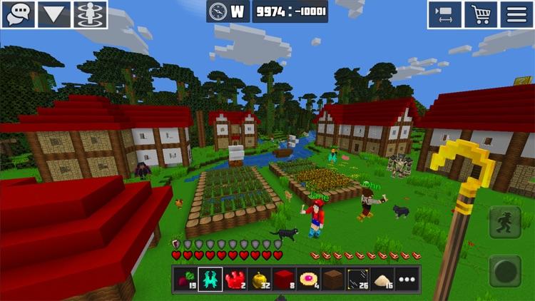PlanetCraft: Block Craft Games screenshot-0