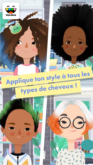 Screenshot for Toca Hair Salon 3 in France App Store