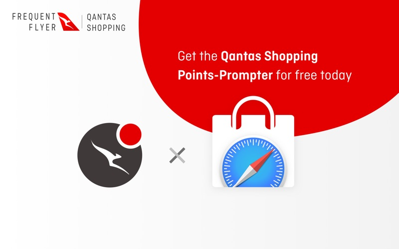 Qantas Shopping PointsPrompter for Mac