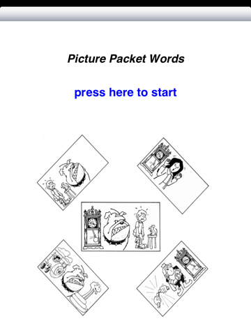 Picture Packets - Words - náhled