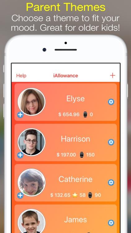 iAllowance Lite with Chores screenshot-5