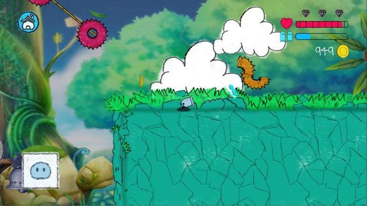 Jumping Slime 2D Platform Game screenshot-5