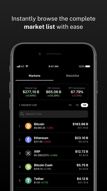 Delta Bitcoin & Crypto Tracker screenshot-3
