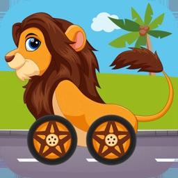 Animals Car Race