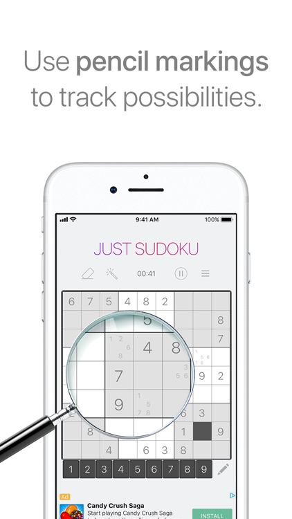 Just Sudoku - Puzzle Games screenshot-4