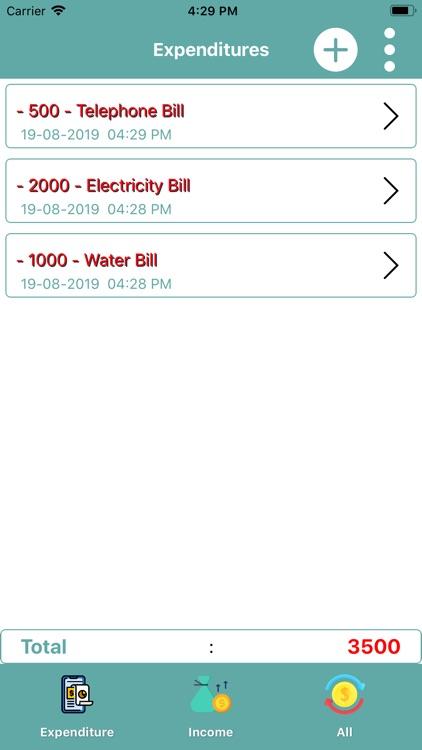 Smart Expense Manager! screenshot-4