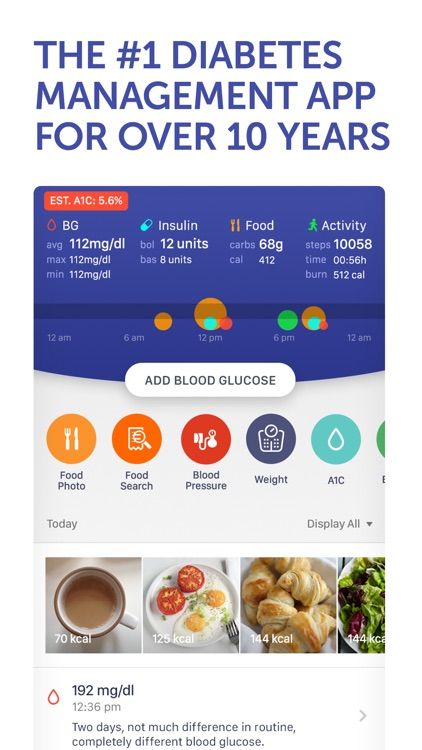 Glucose Buddy+ for Diabetes screenshot-0