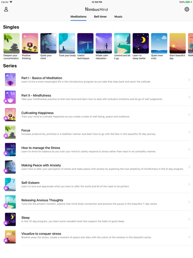 Guided Meditation - NimbusMind on the App Store