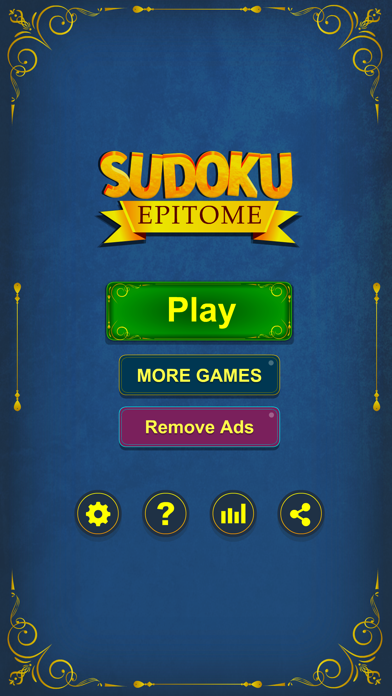 cancel Sudoku Epitome Puzzle Game Android 용 2