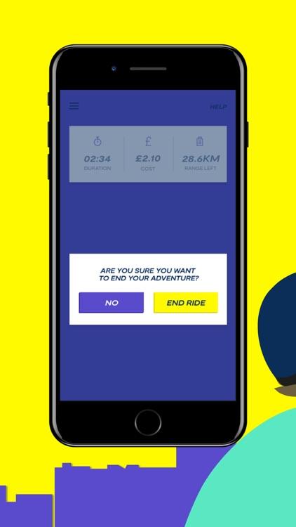 WIND - Smart E-Scooter Sharing screenshot-5