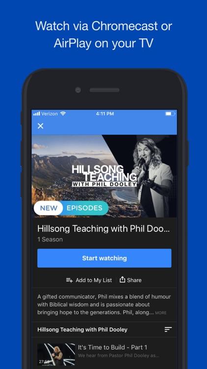 Hillsong Channel NOW screenshot-4