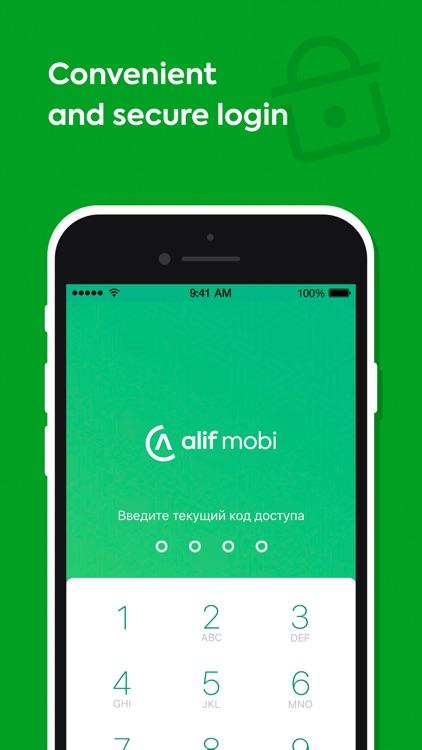 alif.mobi - мобильный кошелек screenshot-4