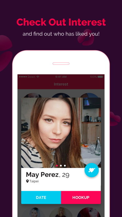 DOWN Dating: 18+ Match&Hookup Screenshot