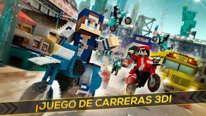 Block Motos: Carreras de MotoCaptura de pantalla de1